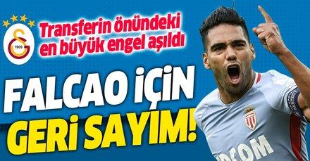 Terim ikna oldu sıra Falcao'da! Galatasaray Falcao için geri sayıma geçti