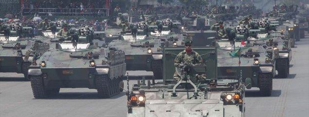 İslam ordusunun dev gücü: Endonezya