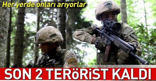 Son 2 terörist kaldı... Her yerde onları arıyorlar