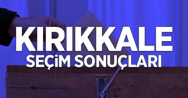 31 Mart Kırıkkale yerel seçim sonuçları
