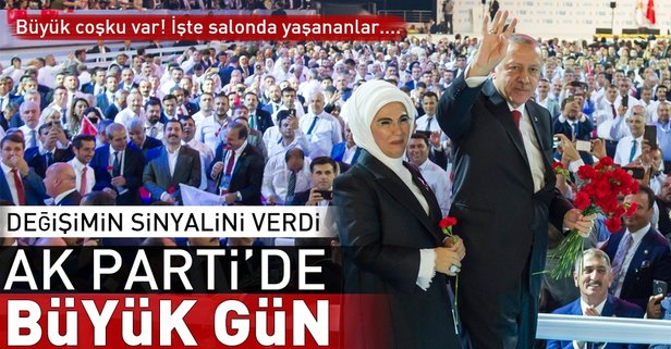 AK Parti'de seçim günü