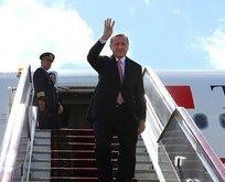 Başkan Erdoğan Kırgızistandan ayrıldı