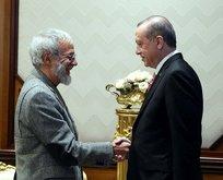 Cumhurbaşkanı Erdoğan Yusuf İslam'ı kabul etti