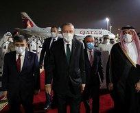 Başkan Erdoğan Katar'dan ayrıldı