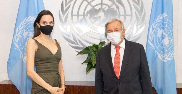 İyi niyet elçisi Angelina Jolie Kongre'de