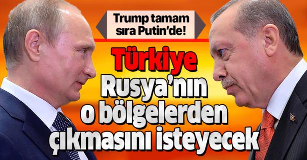 Trump tamam sıra Putin'de! Başkan Erdoğan, Rusya'nın Kobani ve Münbiç'ten çekilmesini isteyecek!
