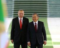 Erdoğan Özbekistan'da