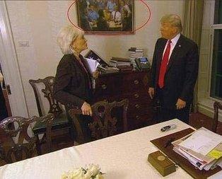 Oval Ofisteki tablo Amerikayı karıştırdı