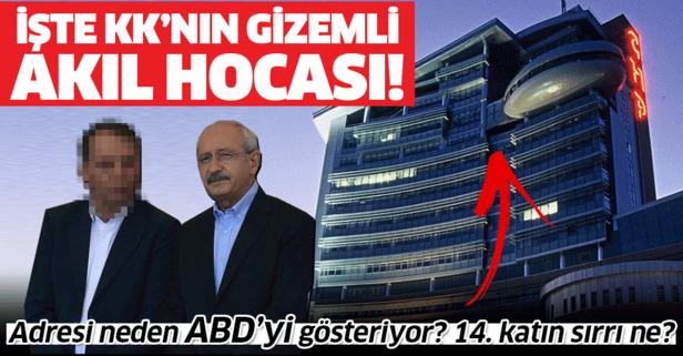İşte Kılıçdaroğlu'nun gizemli danışmanı!