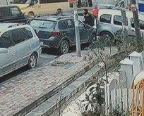 İstanbul'da dehşet anları! Lüks cipe silahlı saldırı