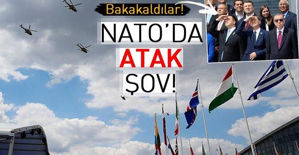 Atak helikopterleri NATO Zirvesinde