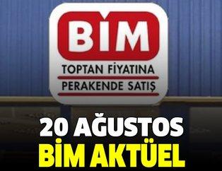 BİM 20 Ağustos Salı aktüel kataloğu yayınlandı! Kataloğda kadınlara özel ürünlerde büyük indirim!