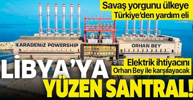 Türkiye'den savaş yorgunu Libya'ya yardım eli!