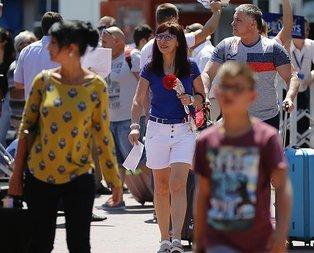 Rus medyası duyurdu! Milyonlarca Rus turist...