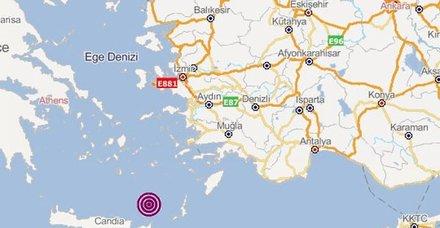 Son dakika: Ege'de korkutan deprem! İzmir yakınlarında deprem! Son depremler