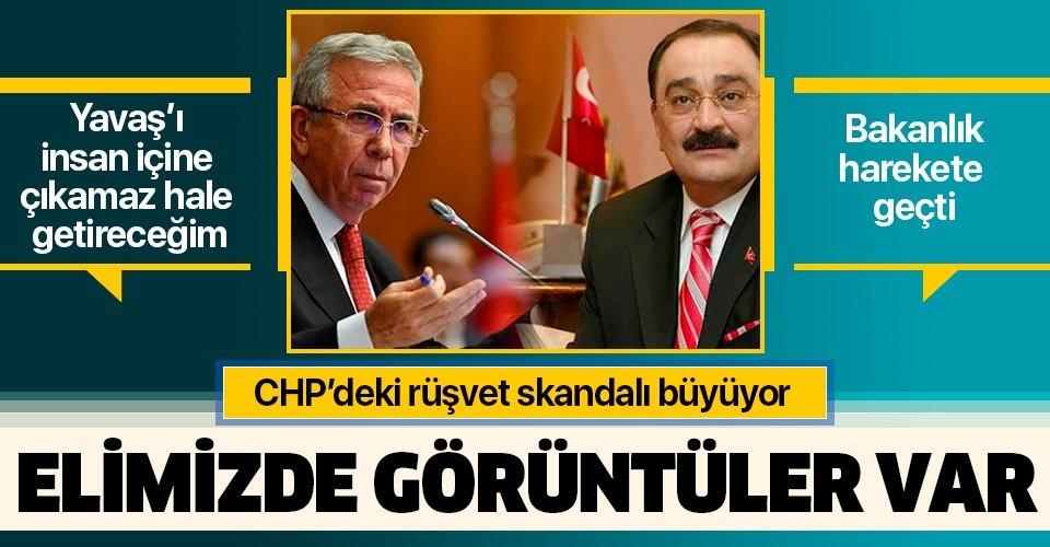 CHP'de rüşvet skandalı büyüyor! Sinan Aygün: Mansur Yavaş'ı insan içine çıkamaz hale getireceğim