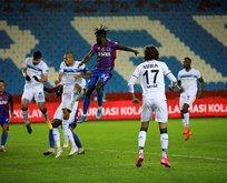 Trabzonspor Ziraat Türkiye Kupası'na veda etti