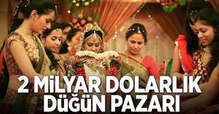 2 milyar dolarlık düğün pazarı