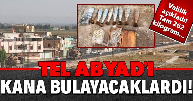 Tel Abyad'ı kana bulayacaklardı! İmha edidi...