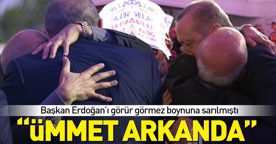 ABDde Başkan Erdoğanın ağlatan buluşması