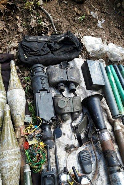 Tuncelide terör örgütü PKKnın cephaneliği ele geçirildi