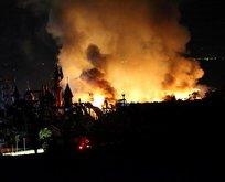 5 yıldızlı oteldeki yangın güçlükle kontrol altına alındı