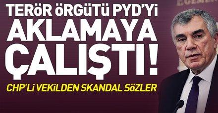 CHPli Çeviköz terör örgütü PYDyi aklamaya çalıştı