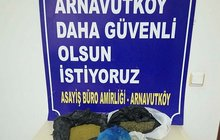 İstanbul'da gece baskını! 1,5 kilo...