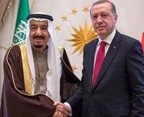 Erdoğan, Suudi Arabistan Kralı Selman ile görüştü