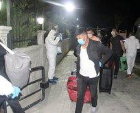 Irak'tan gelen 136 Türk işçi Afyonkarahisar'da