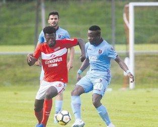 Trabzon'dan kötü prova
