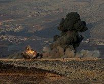 TSK, Afrindeki PYD/PKK mevzilerini vurdu!
