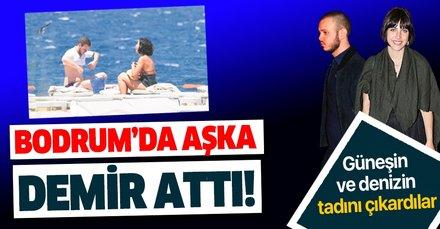 Zehra Çilingiroğlu, sevgilisi Alaattin Kadayıfçıoğlu ile tatil sezonunu Bodrum'da açtı