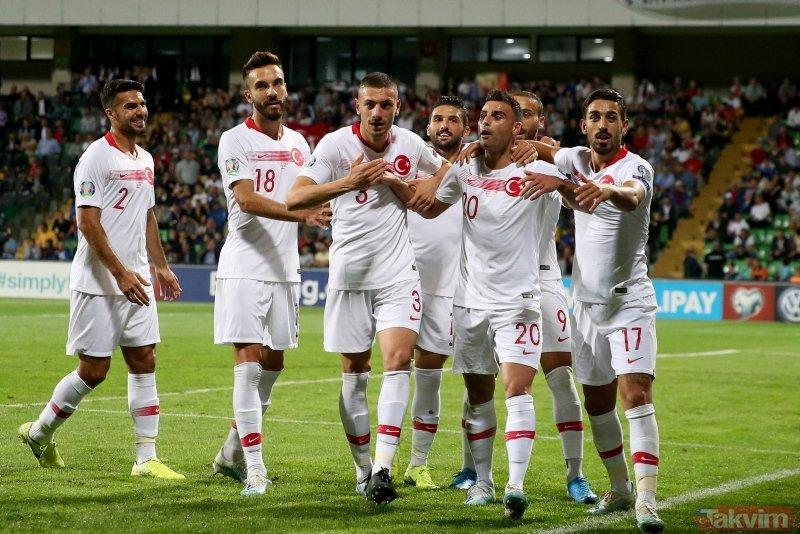 A Milli Takım yeniden lider! Moldova 0-4 Türkiye (Maç sonucu)