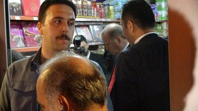 Cumhurbaşkanı Erdoğan Rize'de markete girdi, alışveriş yaptı
