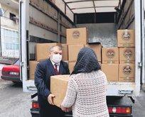 İhtiyaç sahiplerine gıda desteği