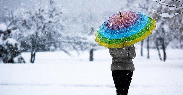 Meteoroloji'den o iller kar yağışı uyarısı!