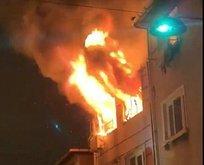 Beyoğlu'nda korkutan yangın! Facia ucuz atlatıldı
