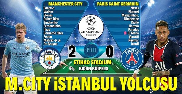 Manchester City, İstanbul biletini kaptı!