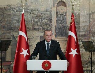 Cumhurbaşkanı Recep Tayyip Erdoğan yabancı basın mensuplarıyla buluştu