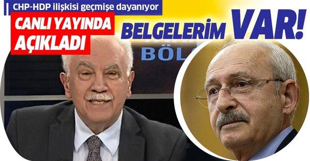 Doğu Perinçek'ten flaş Kılıçdaroğlu açıklaması!