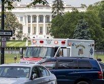 Beyaz Saray'ın önünde kendisini ateşe verdi