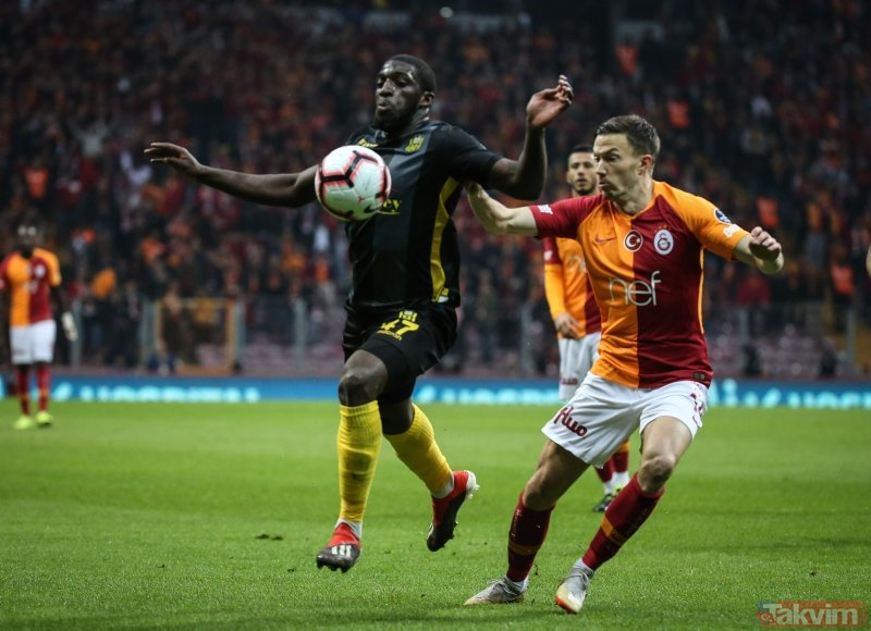 Aslantepe'de Diagne şov! (MS: Galatasaray 3-0 E. Yeni Malatyaspor)