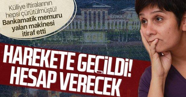 Yalan makinesi bankamatik memuru Tezcan Karakuş Candan'a soruşturma talebi  - Takvim