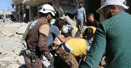 Son dakika: İdlib'e hava saldırısında ölen sivillerin sayısı yükseliyor