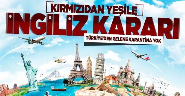 İngiltere'den flaş Türkiye kararı