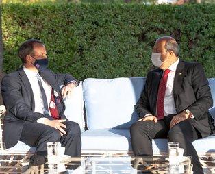 KKTC CumhurbaşkanıErsin Tatar, İngiltere Dışişleri Bakanı Raab'a: Pozisyonumuz Türkiye ile tam bir uyum içindedir