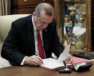 Son dakika: Başkan Erdoğan 3 üniversiteye rektör ataması yaptı