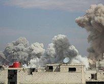 Zalim Esad'dan yine sivil katliamı!