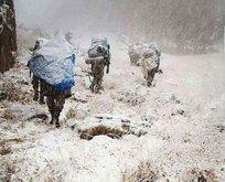 Mehmetçik Kato Dağı'nda PKK'nın kökünü kazıyor